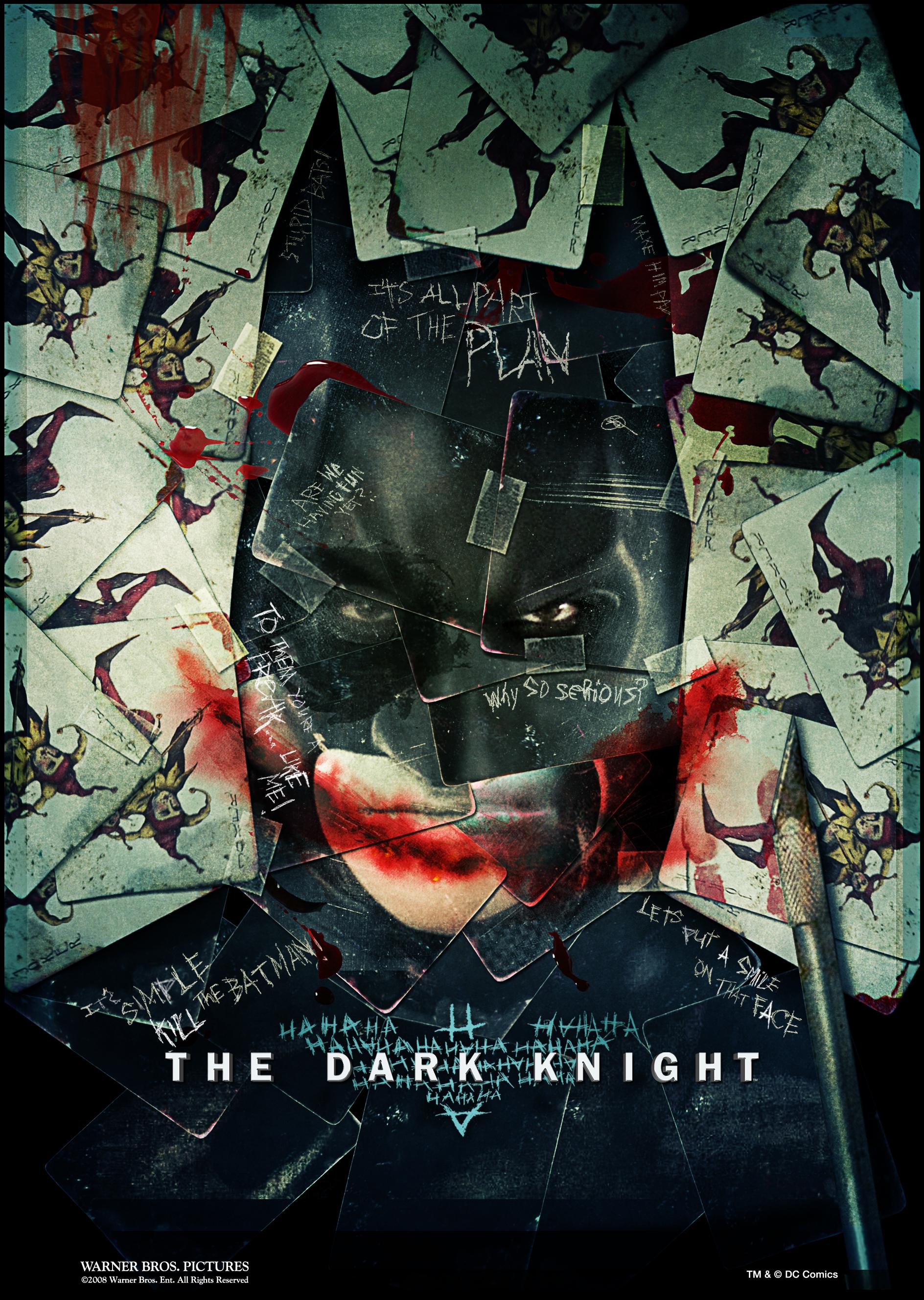 The Dark Knight Jokers New Poster Film